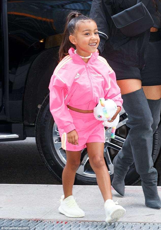 North West έγινε Ariana Grande