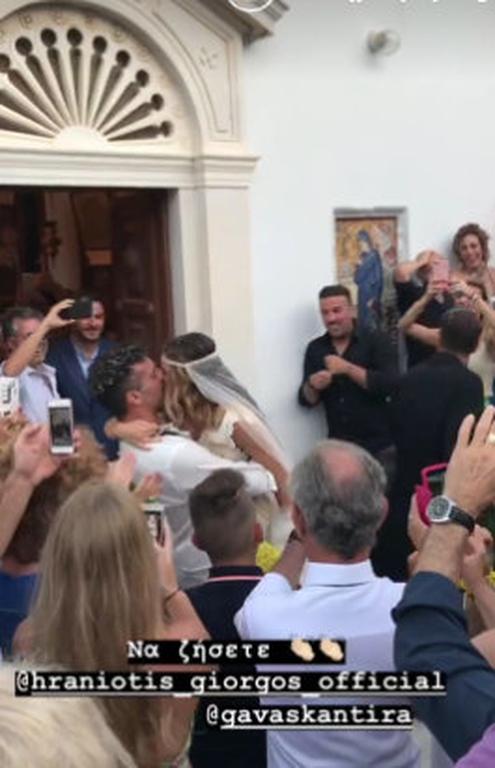 Ο Γιώργος Χρανιώτης παντρεύτηκε με σανδάλια