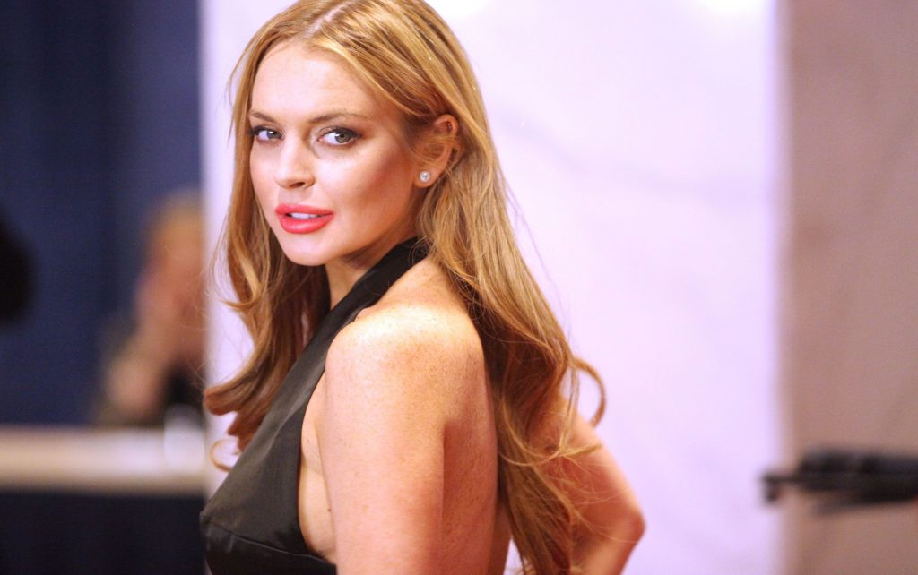Lindsay Lohan έκραξε δημοσίως