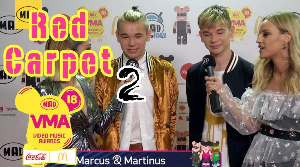 δεύτερο μέρος του Red Carpet των Mad Video Music Awards