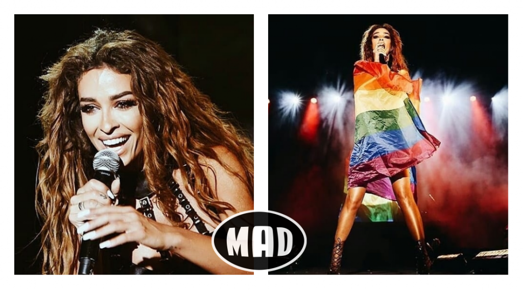 Ελένη Φουρέιρα στο Madrid Gay Pride 2018