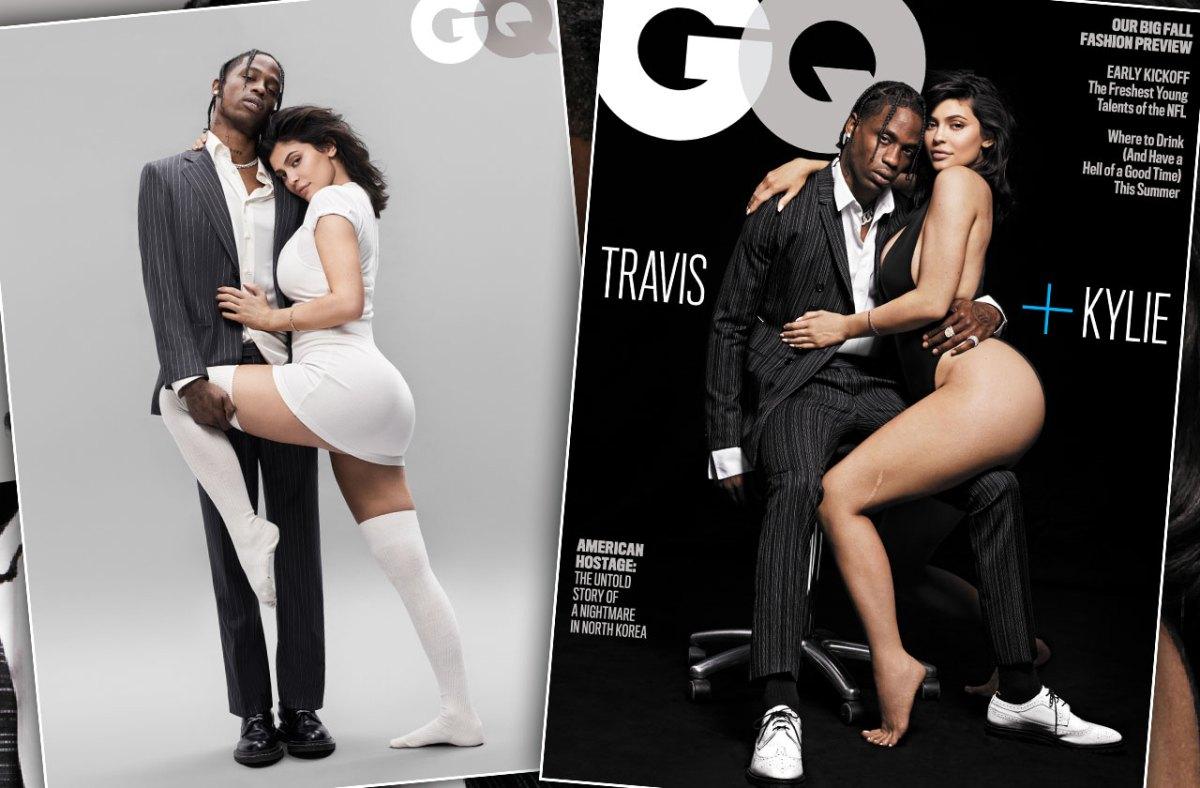 φωτογραφίες τηςKylie Jenner και τουTravis Scott