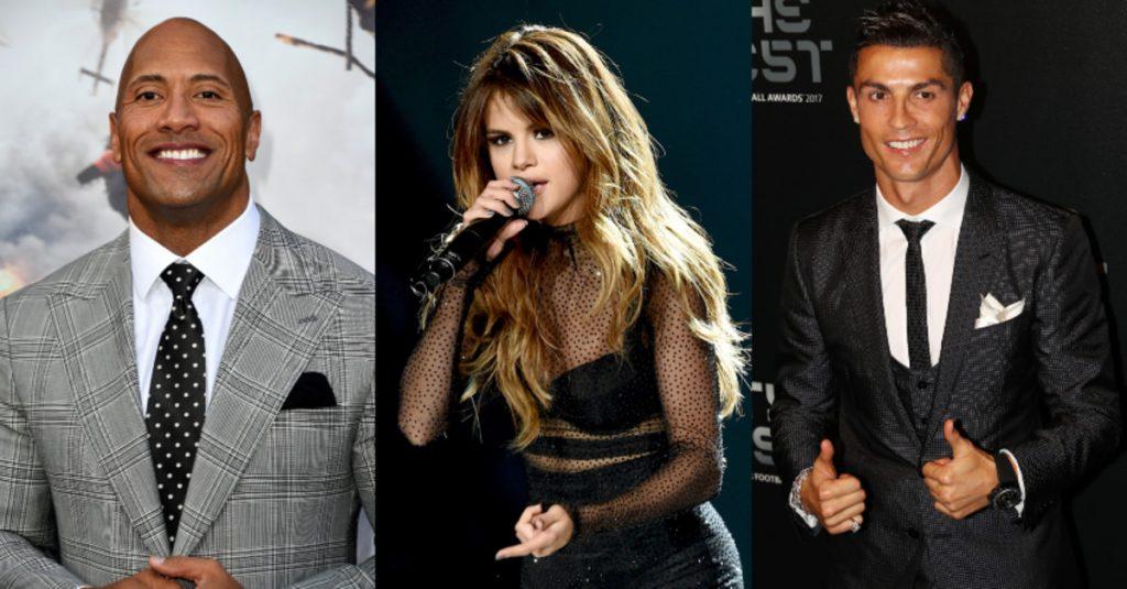 πιο ακριβοπληρωμένοι celebrities στο Instagram