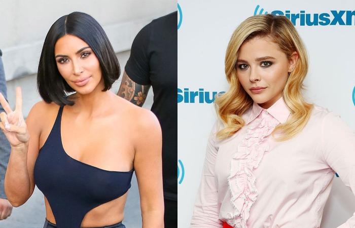 Kim Kardashian και ηChloe Grace Moretz