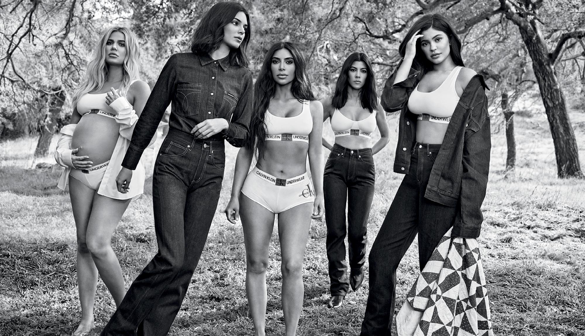 Calvin Klein σε συνεργασία με τιςKardashians