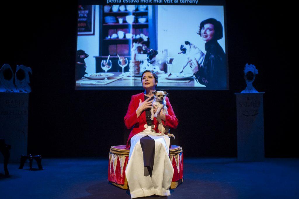 Isabella Rossellini και η παράσταση Link Link