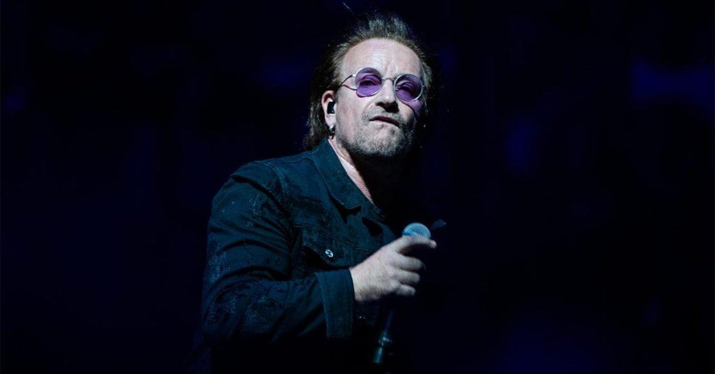 Bono να κάνει ναζιστικό χαιρετισμό