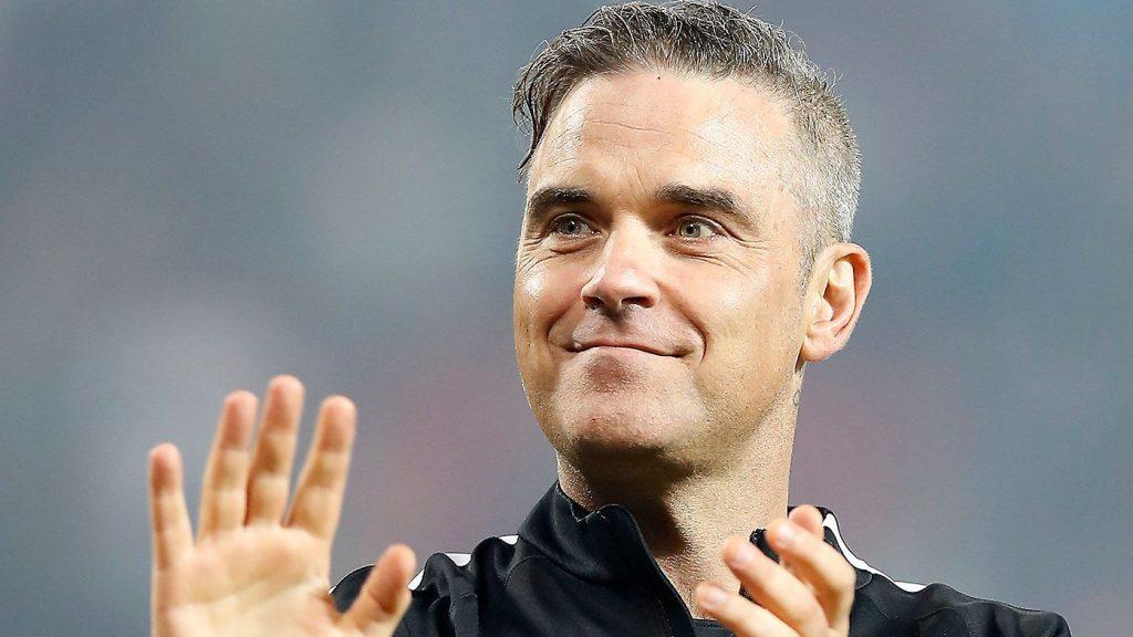 Robbie Williams κυνηγά εξωγήινους