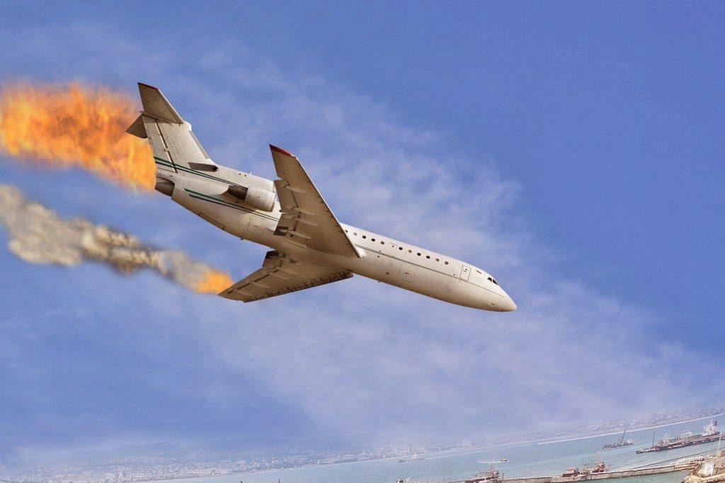 σοκαριστικά αεροπορικά δυστυχήματα