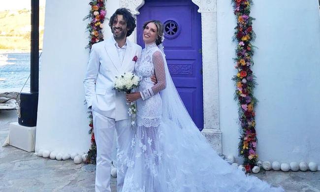 πρώτη ανάρτηση της Αθηνάς Οικονομάκου μετά τον γάμο
