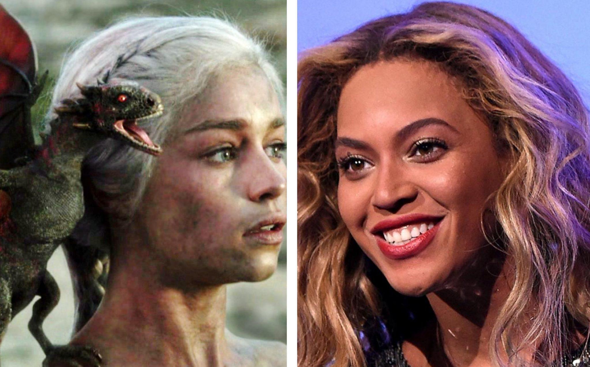 Πως η μητέρα των δράκων «τα έχασε» όταν είδε την Beyonce!