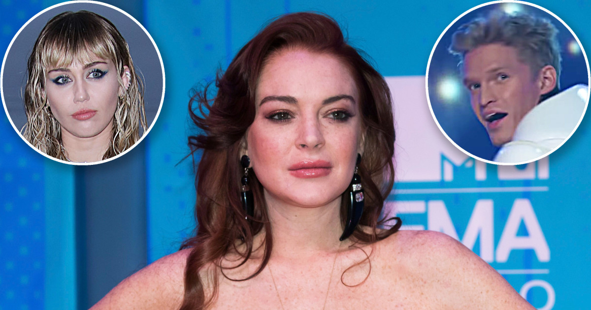 H Lindsay Lohan εξαπολύει επίθεση στον Cody Simpson