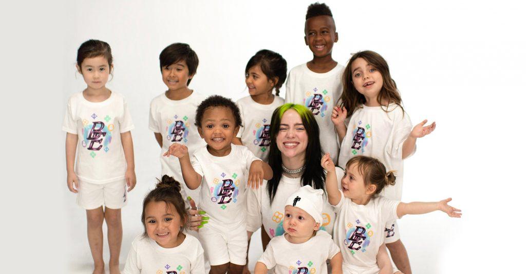 Η Billie Eilish παρουσιάζει συλλογή ρούχων για παιδιά