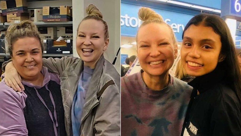 Η έκπληξη της Sia για την Ημέρα των Ευχαριστιών σε πελάτες supermarket