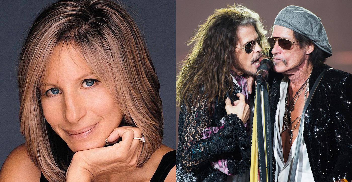 H αποκάλυψη της χρονιάς: Η Barbra Streisand ενέπνευσε τους Aerosmith