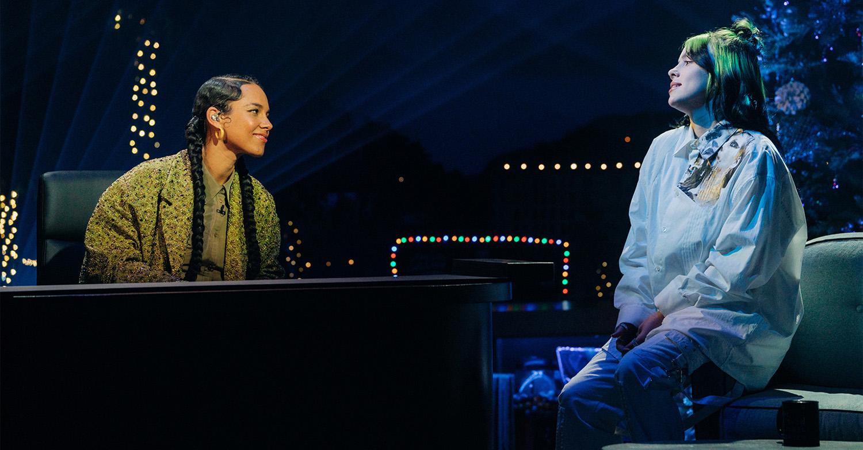 Billie Eilish & Alicia Keys: Δείτε τη μουσική συνάντηση δύο διαφορετικών καλλιτεχνών