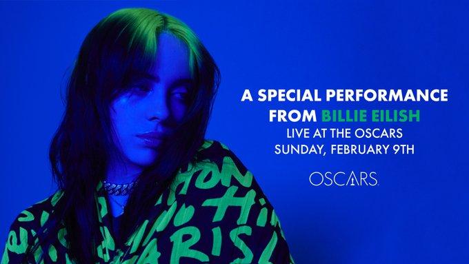 Η Billie Eilish ετοιμάζει ένα special act για την 92η τελετή των Oscar