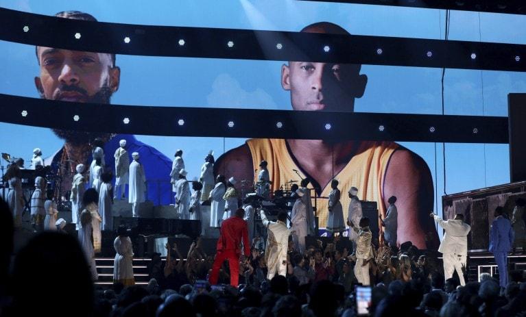 μπασκετμπολίστα Kobe Bryant στα βραβεία Grammy