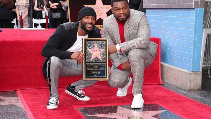 50 Cent απέκτησε το δικό του αστέρι στη Λεωφόρο της Δόξας του Hollywood