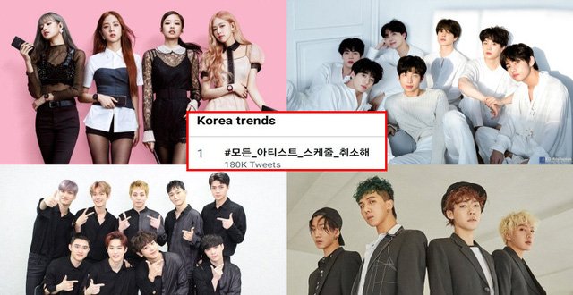 Aκυρώσεις K-pop συναυλιών και βραβείων λόγω κορωνοϊού!