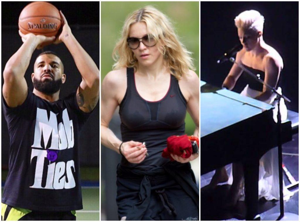 Drake, Madonna και Pink περνάνε δημιουργικά τις ώρες της απομόνωσης και μας δίνουν ιδέες!