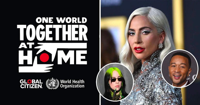 """Η Lady Gaga φέρνει πάνω από 100 καλλιτέχνες και celebrities """"Together at Home"""" σε μία ιστορική συναυλία!"""