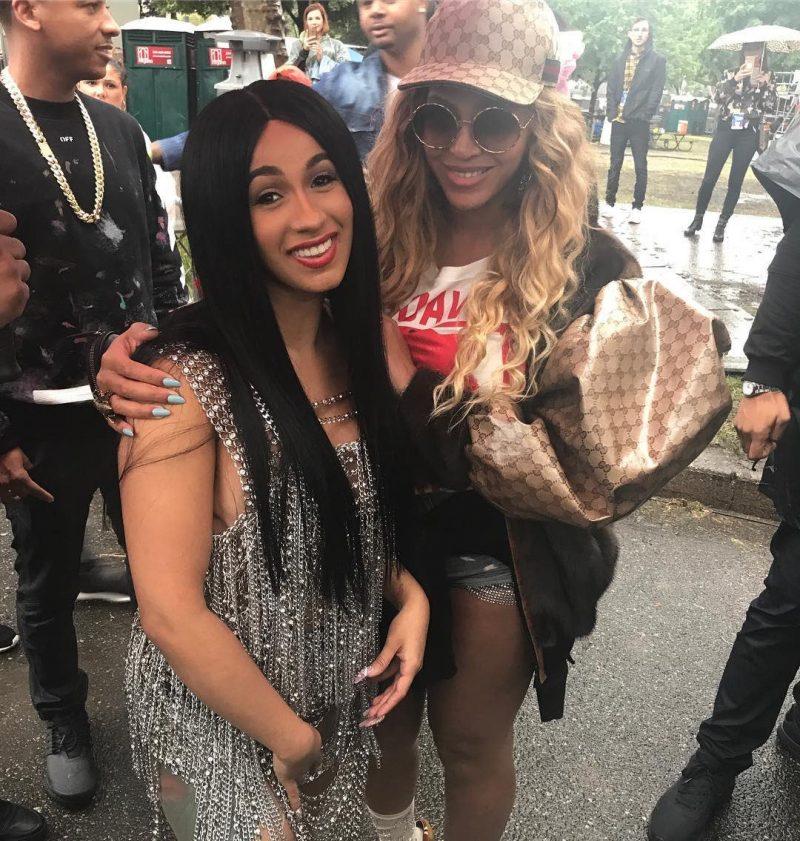 Cardi B ετοίμαζε συνεργασία «φωτιά» με την Beyonce
