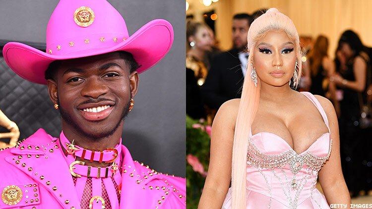 Lil Nas X αποκάλυψε τον λόγο που είχε αρνηθεί ότι είναι fan της Nicki Minaj