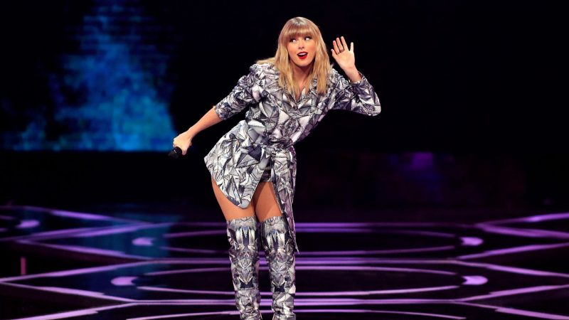 Taylor Swift φτιάχνει κουβέρτες