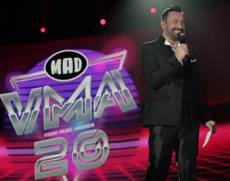 Αποκλειστικό backstage υλικό από τα πρώτα γυρίσματα των φετινών Mad Video Music Awards