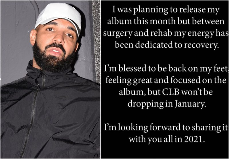 Αναβάλλεται το νέο album του Drake