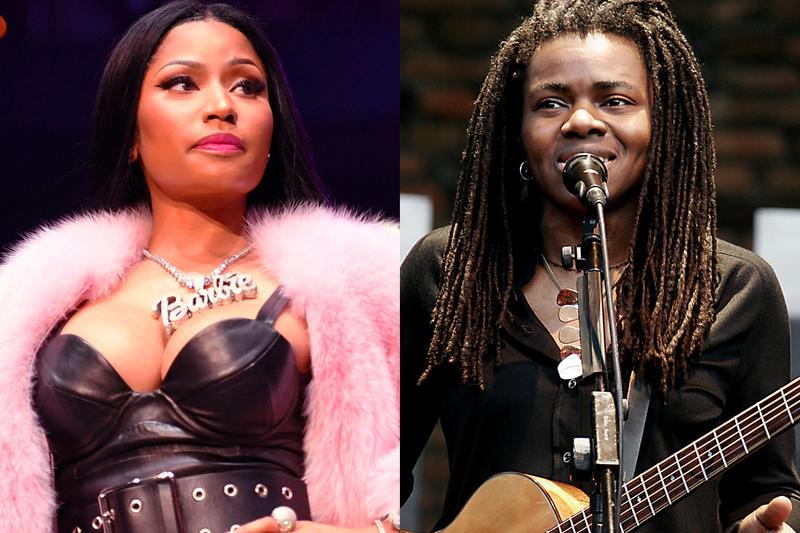 Η Nicki Minaj θα δώσει 450.000 δολάρια στην Tracy Chapman!