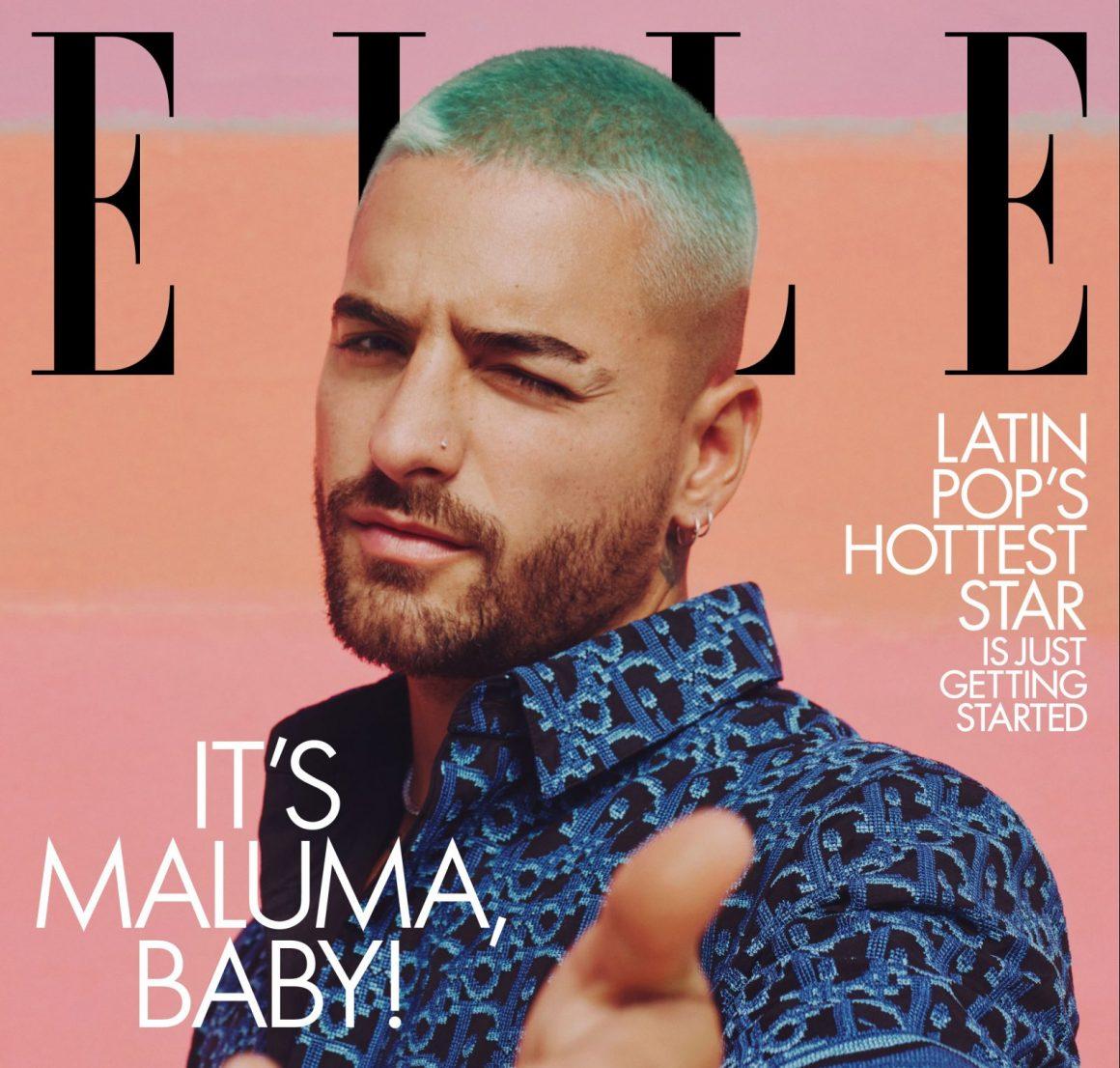 Maluma 1ος άνδρας στο εξώφυλλο της ιστορίας Elle
