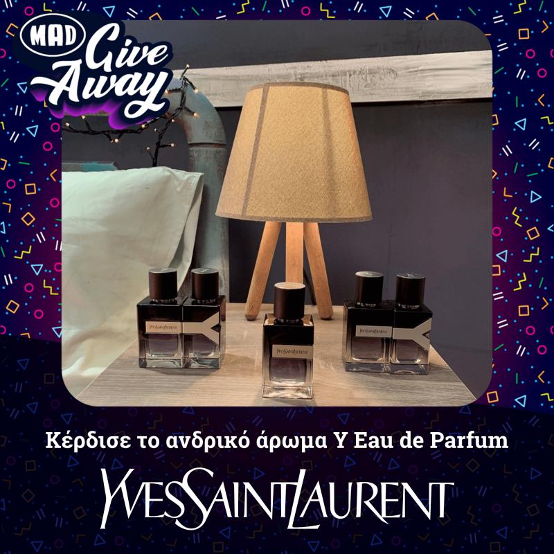 Πάρε μέρος στο πιο Mad Giveaway και κέρδισε ένα άρωμα από τον οίκο Yves Saint Laurent!